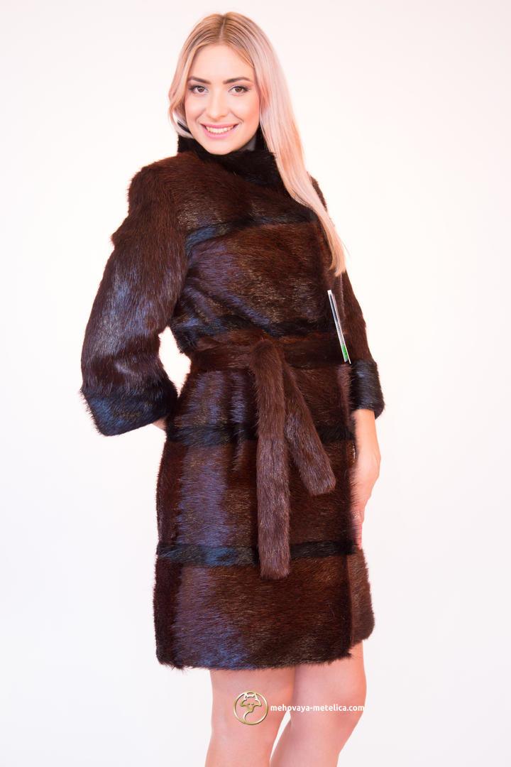 Как перешить шубу из нутрии в модную